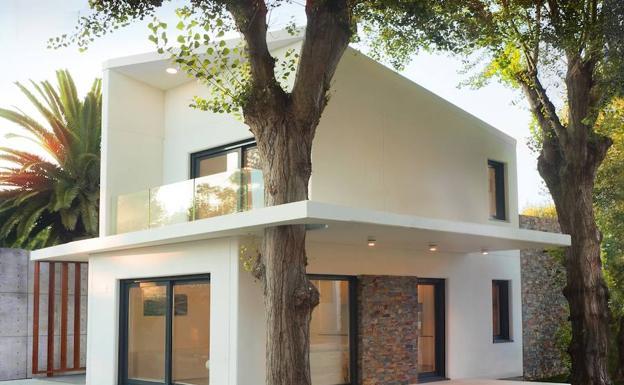 El chalet de sus sue os en menos de 5 meses el comercio - Cmi casas modulares ...