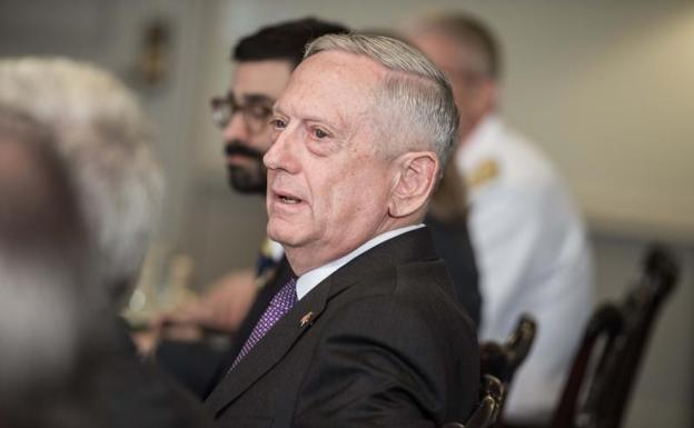 James Mattis, secretario de Defensa estadounidense.