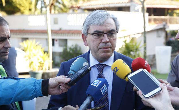 El delegado del Gobierno en Asturias, Mariano Marín/Damián Arienza