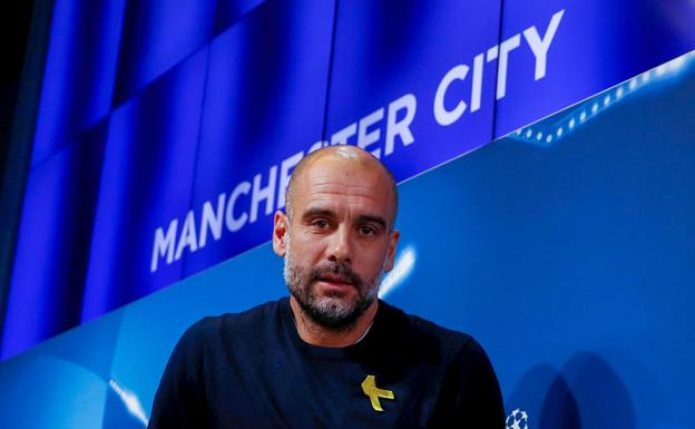 Pep Guardiola./Reuters
