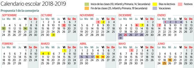 Calendario Escolar Asturias.Educacion Satisface A Los Padres Y Recorta En Dos Dias La Semana De