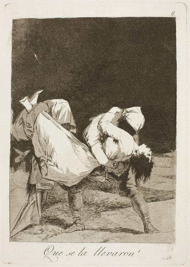 'Los Caprichos' de Goya salen del Bellas Artes   El Comercio