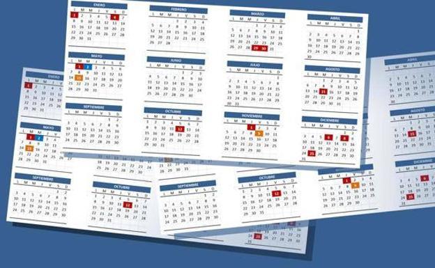 Calendario Laboral 2020 Galicia Doga.Calendarios Laborales Galicia 2019