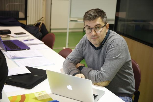 Rubén González Rodríguez, director de Marina Civil. / ROMÁN