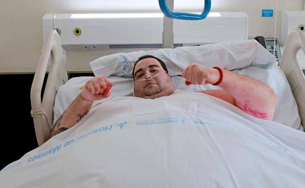 Teo el joven con obesidad m rbida recibe el alta tras adelgazar 95 kilos en tres meses el - Adelgazar 20 kilos en 4 meses ...