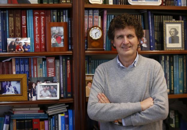 Jaime Baladrón, director del Curso MIR Asturias. / LORENZANA