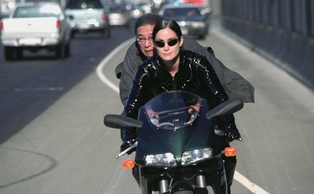 Carrie-Anne Moss en 'Matrix Reloaded'.