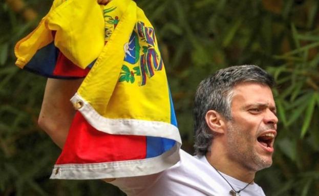 Resultado de imagen para Fotos de Leopoldo López liberado