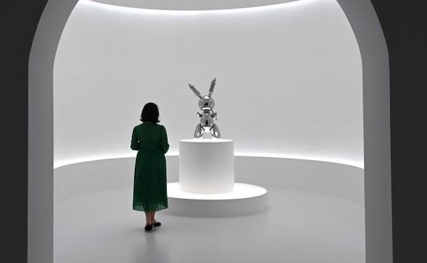 307dc514abaa El conejo de la suerte de Koons | El Comercio