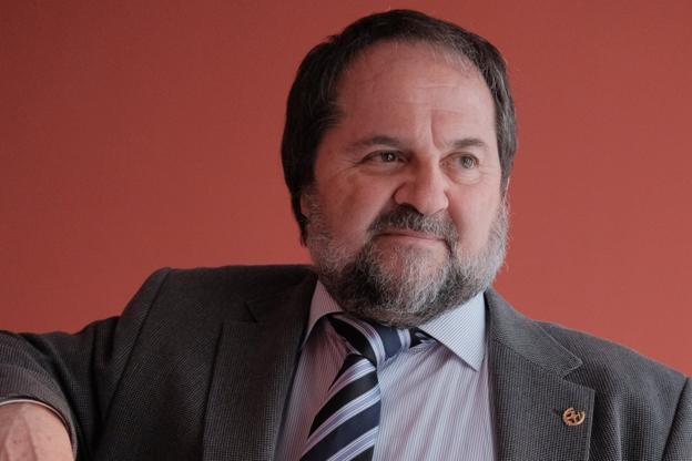 José Antonio Sáenz de Santa María, en EL COMERCIO. / CAROLINA SANTOS