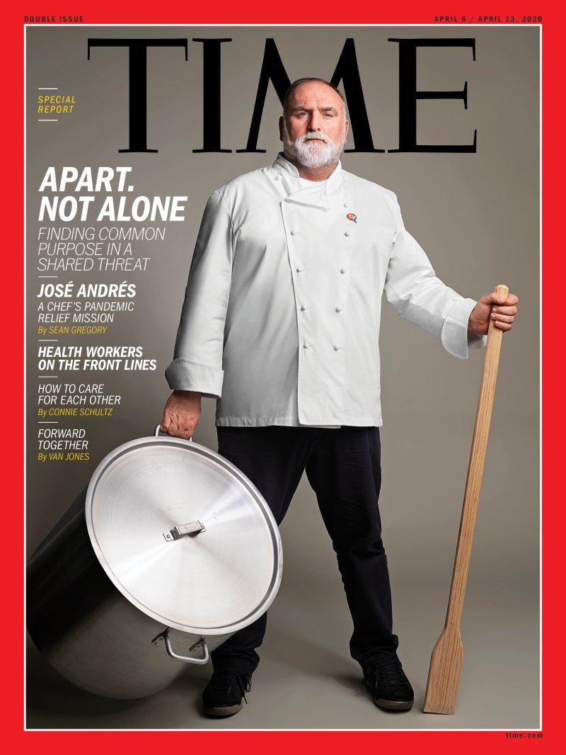 José Andrés: primer asturiano, portada de la revista 'Time' | El Comercio