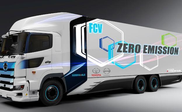 Comienzan los primeros test de viabilidad del camión de pila de hidrógeno