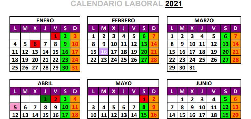 Los Puentes Y Megapuentes Del Calendario Laboral 2021 El Comercio