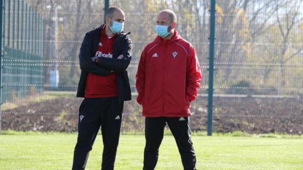 Pablo Álvarez y José Alberto en una imagen de esta temporada.