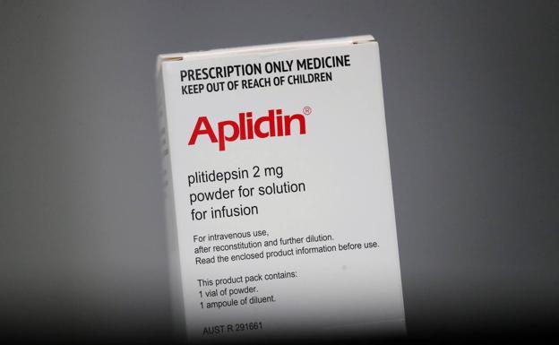 Una caja de Aplidin./Reuters