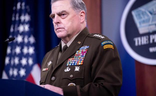 Mark Milley, jefe del Estado Mayor Conjunto de Estados Unidos.