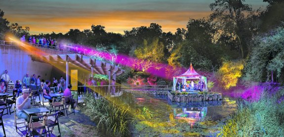 La Terraza Flotante Del Jardin Botanico De Gijon El Comercio