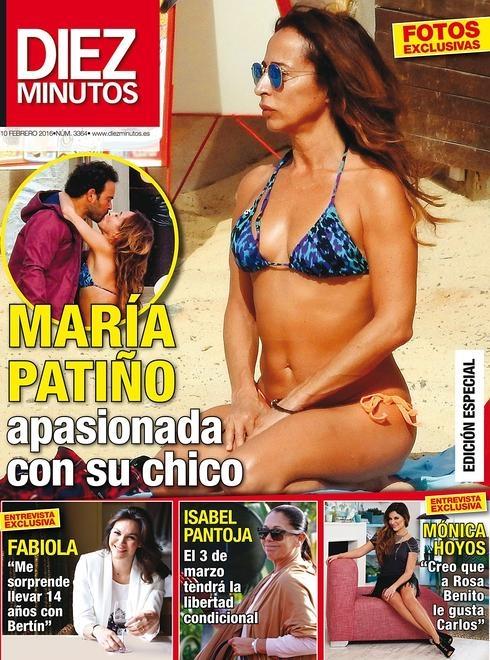 La Apasionada Jornada En La Playa De María Patiño Y Su Chico El