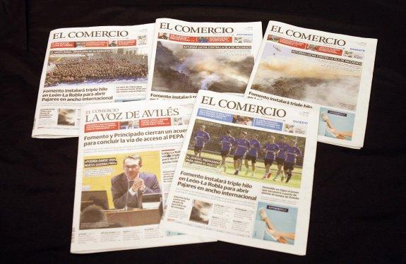 La Voz De Avilés El Comercio Supera Los 147 000 Lectores Diarios El Comercio