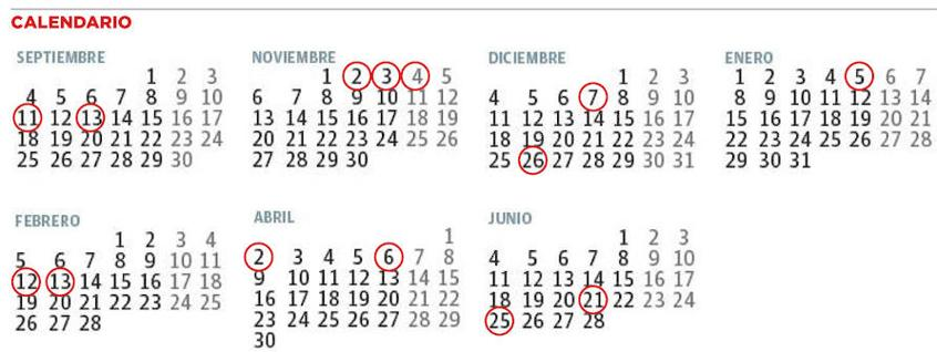 Calendario Escolar Asturias.Calendario Escolar De Asturias Los Alumnos De Primaria Empezaran