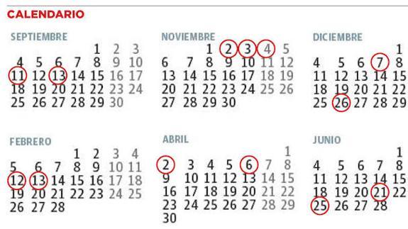 Calendario Escolar 18 19 Asturias.Calendario Escolar Los Sindicatos Docentes Defienden El